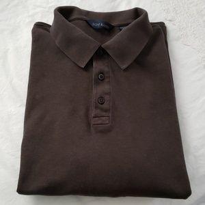 Scott Barber Long Sleeve Polo Shirt XXL